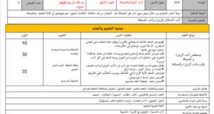 بوربوينت (تحضير شامل) تربية اسلامية للصف الثالث الفصل الثاني