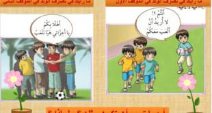 بوربوينت (صفات المؤمن) تربية اسلامية للصف الثالث الفصل الثاني