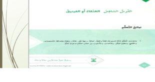 حل درس العنقاء والفينيق لغة عربية للصف الثامن الفصل الثالث