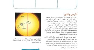حل درس نظام الشمس والارض والقمر علوم للصف السادس الفصل الثالث
