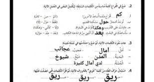 حل درس قصة ميرابل لغة عربية للصف الرابع الفصل الثالث