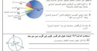 أوراق عمل اختيار من متعدد رياضيات للصف العاشر الفصل الثالث 2020-2021