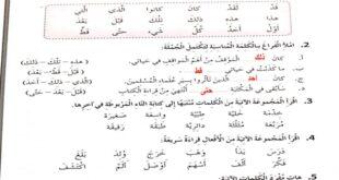 حل درس اطباء الانسانية لغة عربية الصف السابع الفصل الثالث