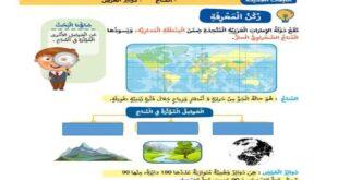 حل درس المناخ ودوائر العرض دراسات اجتماعية للصف الثالث الفصل الثالث
